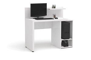 Escrivaninha para Computador S973 Branco Brilho - Kappesberg