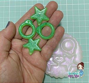 Molde Pull Rings para Dolls Articuladas - BCV