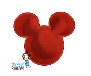Molde Forma de Silicone (Grande)  - Mickey