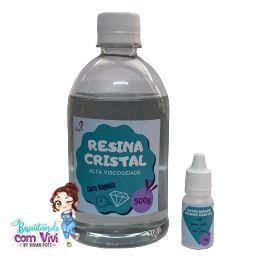 Resina Cristal de ALTA Viscosidade - 510g