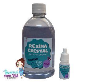 Resina Cristal de BAIXA Viscosidade - 510g