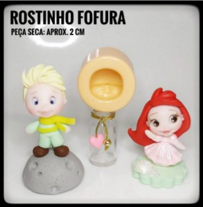 Molde Rostinho Fofura - Ateliê do Molde