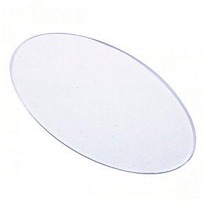Base Acrílica Oval 8x5 cm - Russo Art