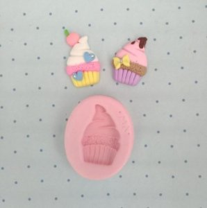 Molde Aplique Cupcake - Marcela Arteira