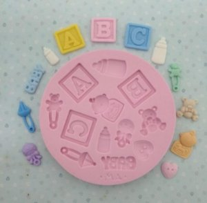 Molde Kit Baby - Marcela Arteira