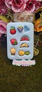 Molde Mini Frutas - Angellartes