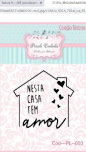 "Textura Borracha - ""Nesta Casa tem Amor"" PL003"