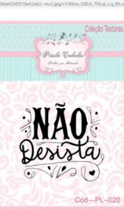 """Textura Borracha - """"Não Desista"""" PL020"""