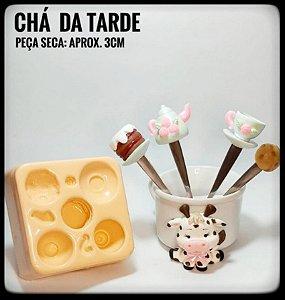 Molde Chá da Tarde - Ateliê do Molde