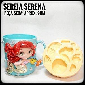 Molde Sereia Serena - Ateliê do Molde