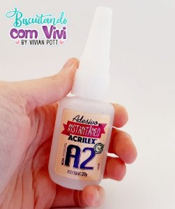 Adesivo instantâneo A2 Acrilex
