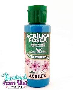 Tinta Acrílica Fosca Acrilex - Azul Piscina