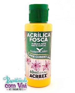 Tinta Acrílica Fosca Acrilex - Amarelo Ouro
