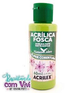 Tinta Acrílica Fosca Acrilex - Verde Maçã