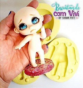 Molde Bipartido Doll Bru (COMPLETO) - BCV