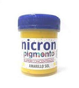 Pigmento concentrado Nicron - Amarillo Sol