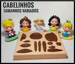 Molde Cabelinhos - Ateliê do Molde