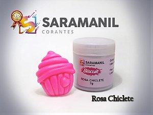 Corante em pó Rosa Chiclete - Saramanil
