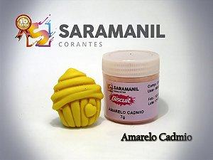 Corante em pó Amarelo Cádmio - Saramanil