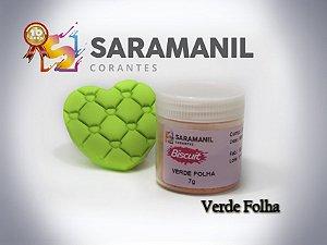 Corante em pó Verde Folha - Saramanil