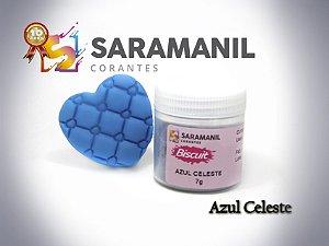 Corante em pó Azul Celeste - Saramanil