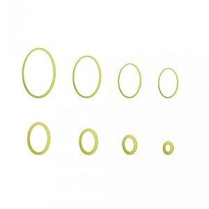 Cortador Oval - Blue Star