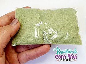 Pó para flocagem - Verde Abacate - 20g