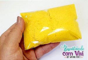 Pó para flocagem - Amarelo - 20g