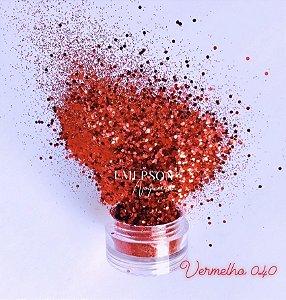 Glitter 040 - Vermelho