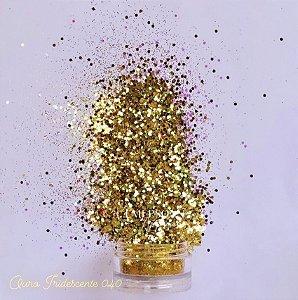 Glitter 040 - Ouro iridescente