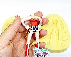 Molde Bip. Chibi Slim Feminino 3D - Corpo - BCV