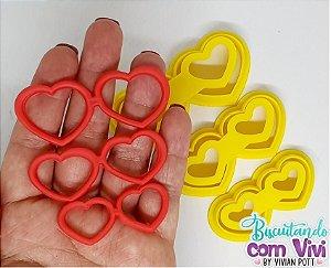 Kit Cortador de Óculos - Modelo Coração