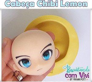 Molde Cabeça Chibi Lemon - BCV
