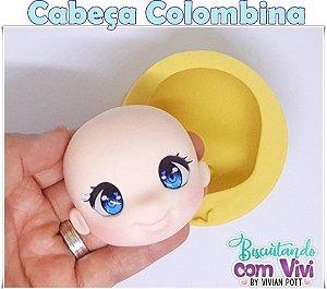 Molde Cabeça Colombina - BCV