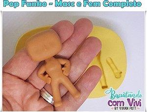 Molde Mini Funko - Funkinho - BCV