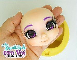 Molde Cabeça Doll Anninha - BCV