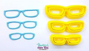 Kit Cortador de Óculos - Modelo Leitura (3 Tamanhos)