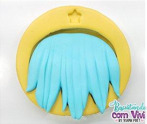Molde de Cabelo - Modelo Mega Hair Liso - BCV