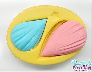 Molde de Cabelo - Modelo: Gotinha - BCV