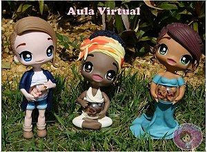 Aula Virtual Gravidinhas - Chibi Fofinhas