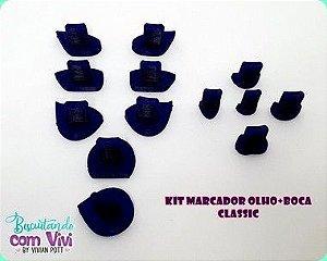 Kit Marcadores Classic - Olhos e Boca P ao EG