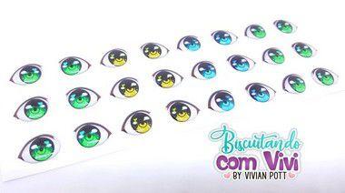 Olho Bubble - Resinado - Belas Neves