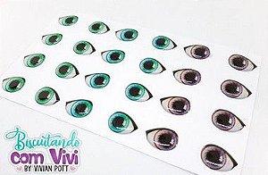 Olho Precious - Resinado - Belas Neves