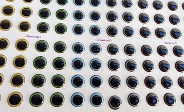 Olhos resinados - Cod. 560 Monicart's