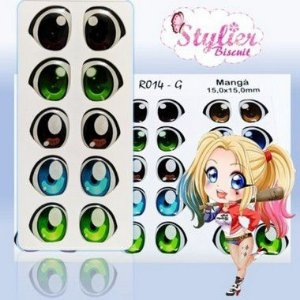 Olhos Resinados R014 ECO - Stylier