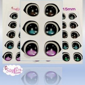 Olhos Resinados R070 - Stylier