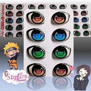 Olhos Resinados R075 Anime/Chibi - Stylier