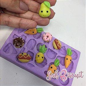 Molde de Silicone Delicinhas Micro - Sah Biscuit
