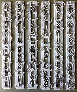 Carimbo Régua Letras Maiúsculas e Números