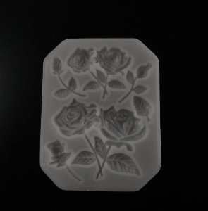 Molde Cravos e Rosas